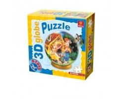 Globe Puzzle 3D, Basme-Hansel si Gretel, firma D-Toys